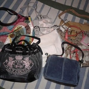 COACH BAGS AND WALLET